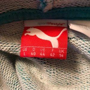 Puma cowl neck hoodie